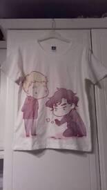 Sherlock & Watson Tshirt - Small