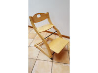 Wooden Adjustable High Chair