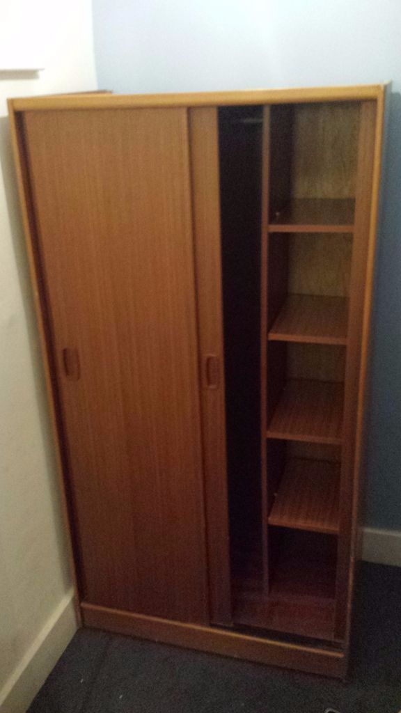 Nice quality sliding door wardrobe with shelves in wells road bristol gumtree - Nice bedroom wardrobes ...