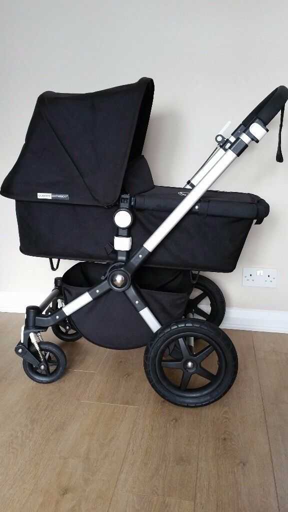 Bugaboo Cameleon 3 In Black With Maxi Cosi Car Seat Adaptors And More Extras