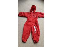 CHILDRENS RAIN SUIT WATERPROOF ALL-IN-ONE (age 2 - 3)