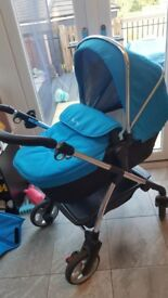 Silver Cross Travel System - Blue