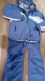 Ski, snow, waterpeoof jacket & trousers small/medium