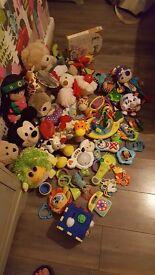 Bundle baby toys