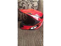 Motocross helmet size medium