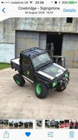 Suzuki samurai sj on/off road rock crawler