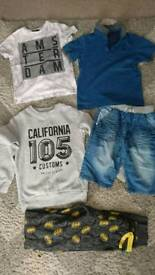 Boys clothes age between 8-9 amd 10-11yrs