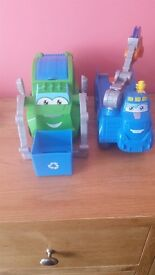 Playdoh vehicles