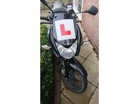 Honda 125 cbf motorbike for sale