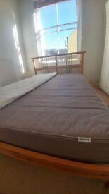 IKEA Double Bed - Sultan Mattress