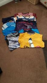 12 boys tshirts size 11-12 yrs. 10 short sleeved and 2 long sleeved.