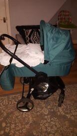 Hawk full travel system stroller from new born