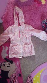 Girls coat & minnie bodywarmer 3-4
