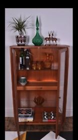Vintage Teak Danish Design Bookcase-Cabinet by G PLAN