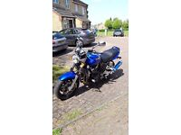 Muscle bike full scorpion exhaust plus original, alarm,M. extras very well maintained one year MOT