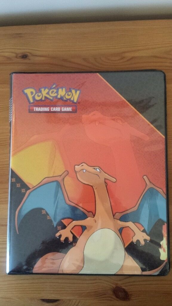Pokemon Charizard Folder/Binder - Holds 180 Cards.