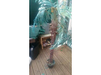 Artificial Fake Plant / Palm Tree with realistic trunk & pot Home Office Garden