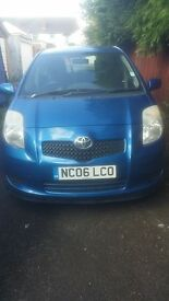 06 Toyota Yaris T3 1.3, 1 Lady Owner from New, Low Miles, Spolier,Alloys