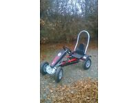 Child's pedal go-kart, only used once. WILL DELIVER. Perfect for Christmas!