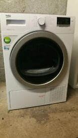 Nearly New Beko DSX83410W Heat Pump Condenser Tumble Dryer