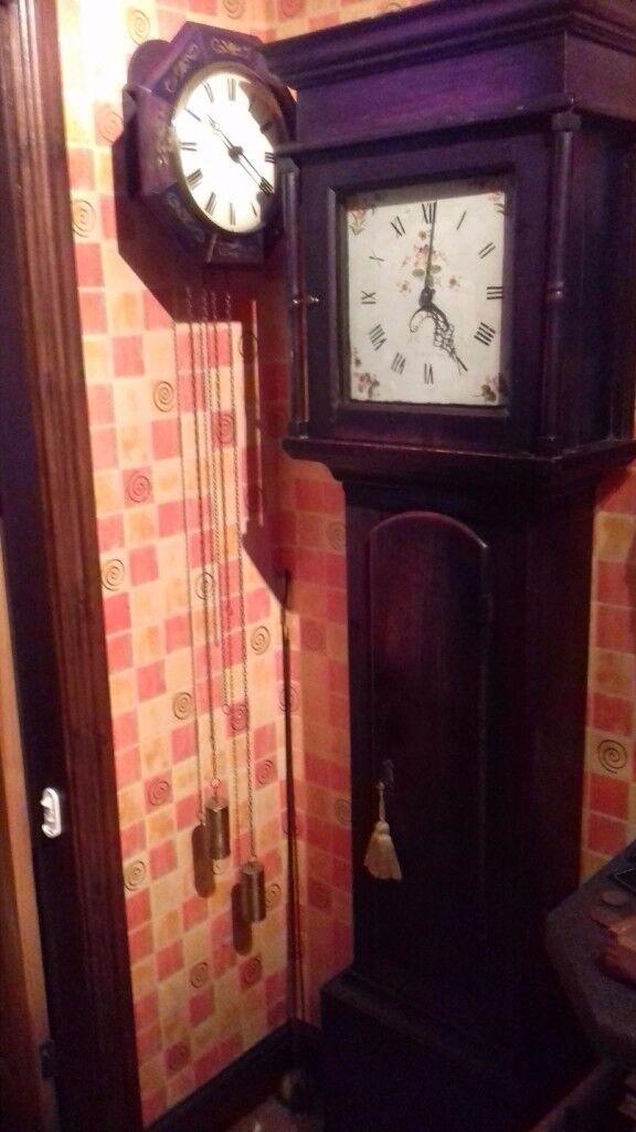 Welsh grandfather clock circa 1840