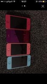 iPhone 4 unlocked 8gb custermise