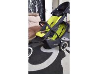 Excellent condition phil&teds dot double buggy