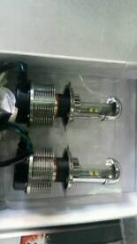 LED Headlamp bulb kit new in box