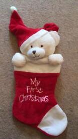 First Christmas stocking - new!