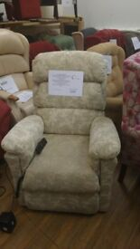 La Z Boy Newark Dual Motor Riser Recliner Chair, Delivery Available