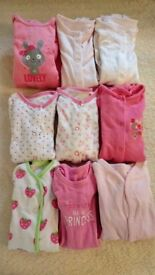 Baby grow bundle 0-3