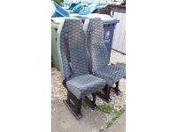2 rear seats from Ford Transit