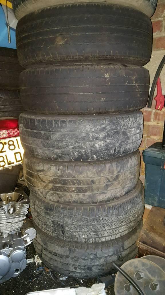 6 15 inch vito steel wheels