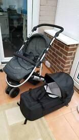 Mama's & Papa's Luna Mix Pushchair/ Pram/Stroller