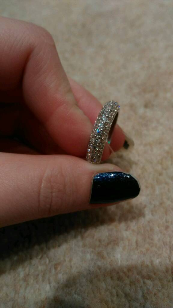 Brand New Silver Ring £10 For Quick Sale