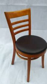 4 chairs solid wood