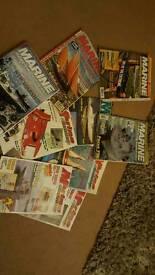 Marine modelling and model boats magazine Job lot of 25