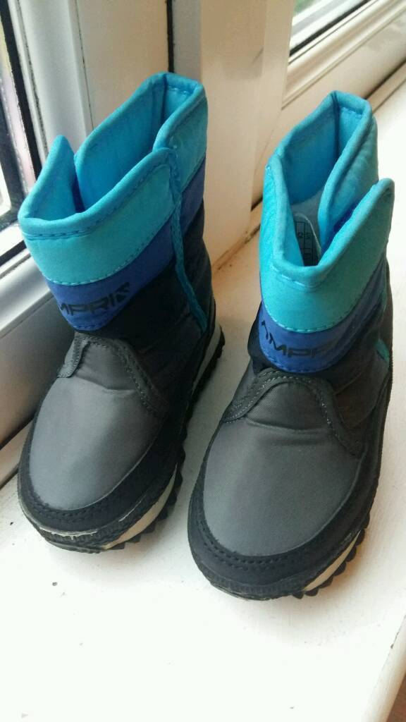 kids snow jogger boots