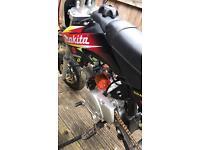 110 pit bike lifan pro pitbike