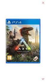 Ark survival Evolved PS4 game