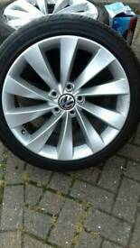 1x genuine scirocco wheel