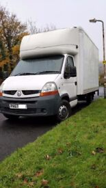 2007 57 PLATE RENAULT MASTER LUTON VAN WITH 500KG TAIL LIFT GREAT CONDITION BARGAIN £3495 NO VAT!!!!