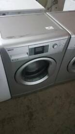 SILVER BEKO 8KG 1400 SPIN WASHING MACHINE WITH 3 MONTHS GUARANTEE