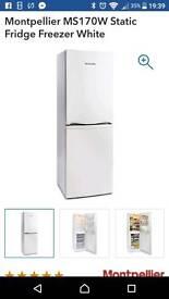 Brand new white fridgefreezer