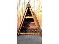 New, Pyramid Log Store