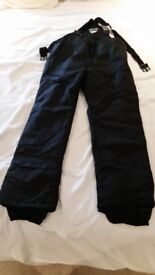 pair of skiing salopettes Mens black XL USA purchased