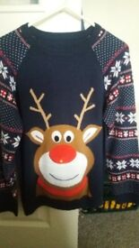 Age 10/11 boys Christmas jumper Never worn