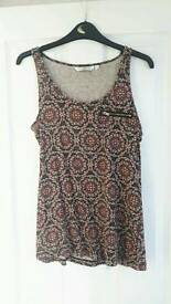 New Look vest top, size 10