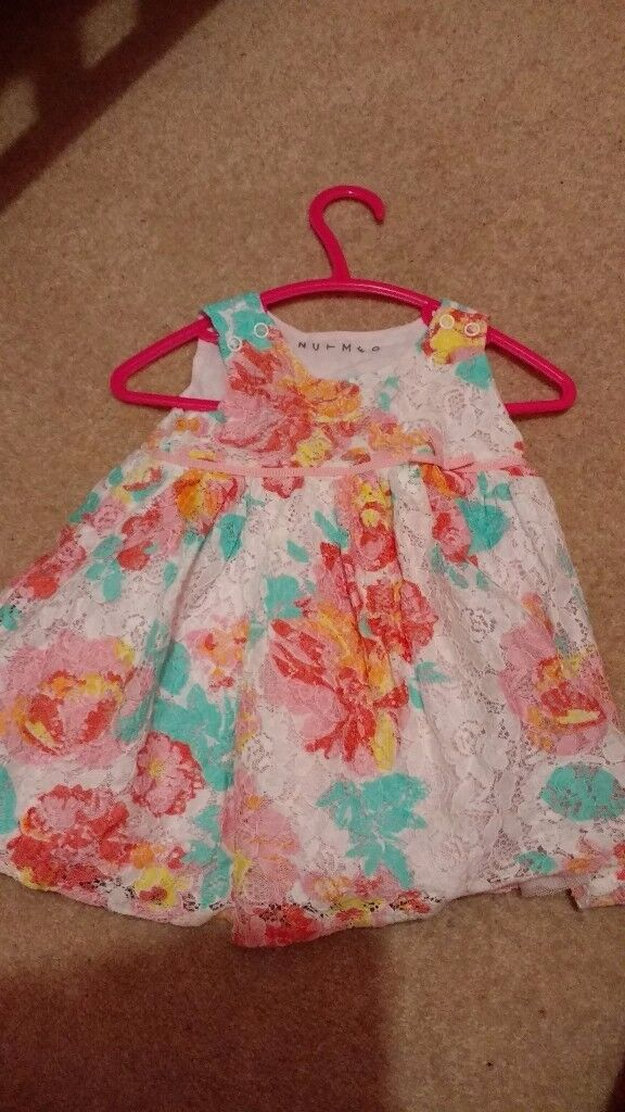 Beautiful Baby Girl Dress (o to 3 months )