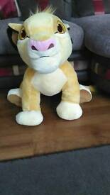 Large Disney store lion king simba